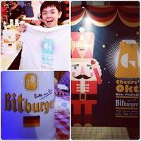 Photo taken at Cheers' Okt Beer Festival by Chow S. on 10/25/2013