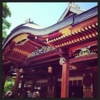 Photo taken at Yushima Tenmangu Shrine by Ai S. on 5/4/2013