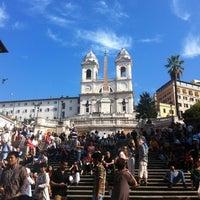 10/24/2012にRiccardo B.がScalinata di Trinità dei Montiで撮った写真