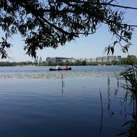 Photo taken at залив Десенки by Сергей К. on 6/6/2014