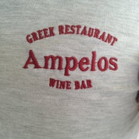 Photo taken at Ampelos by Anastasia A. on 6/19/2013