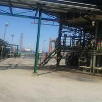 Photo taken at Refinería Petronor by JAVI M. on 6/5/2013