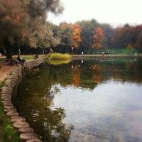 Photo taken at Парк «Дубки» by Tata K. on 9/22/2012