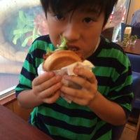 Photo taken at MOS Burger by kitakitakit on 10/5/2014