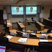 Photo taken at SMU Executive Seminar Room 5-1 by Michael N. on 3/28/2014