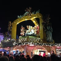 Photo taken at Mainzer Weihnachtsmarkt by Birgit S. on 12/18/2013