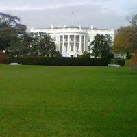 Photo taken at South Lawn - White House by Carolina S. on 11/15/2012