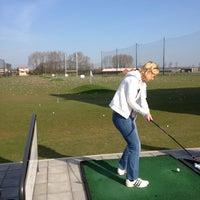 Photo taken at Golfbaan Tespelduyn by Simone M. on 4/24/2013