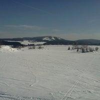 Photo taken at Ski areál Abertamy by Zuzana on 3/2/2013