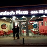 12/17/2013 tarihinde Onur B.ziyaretçi tarafından Domino's Pizza'de çekilen fotoğraf