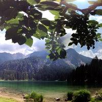 Photo taken at Lago di Tovel by Matteo M. on 7/10/2016