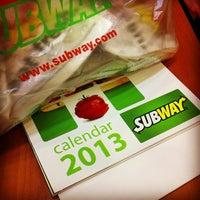 Photo taken at Subway by penman on 12/18/2012