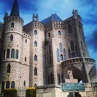 Photo taken at Palacio Episcopal de Astorga by Ignacio F. on 3/28/2013