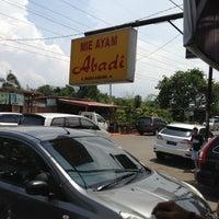 Photo taken at Bakmi abadi muara karang by Andrew S. on 11/24/2012