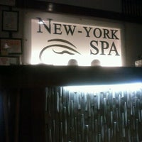 Photo taken at New York Spa by Solomon L. on 9/30/2012