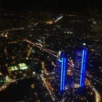 Photo taken at Sapphire Seyir Terası by Seher Ç. on 12/11/2012