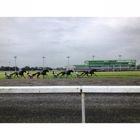 Photo taken at Meadowlands Racing & Entertainment by C.C. C. on 8/3/2013