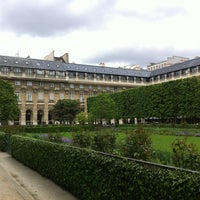 Photo taken at Palais Royal by Anna P. on 2/1/2013
