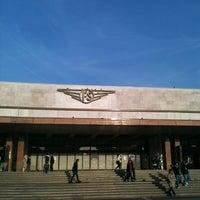 Photo taken at Venezia Santa Lucia Railway Station (XVQ) by Matteo C. on 10/18/2012