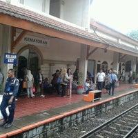 Photo taken at Stasiun Kemayoran by Arief B. on 12/28/2012