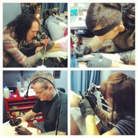 Photo taken at Suicide Kings Tattoo by SuicideKings T. on 11/20/2012