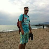 Photo taken at Пляж Айтар | აიტარის პლიაჟი by koragga on 9/17/2013