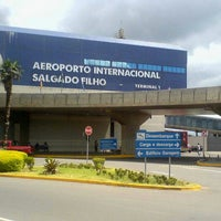 Photo taken at Salgado Filho International Airport (POA) by Alvaro R. on 4/26/2013