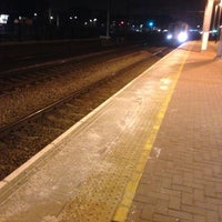 Photo taken at Alexandra Palace Railway Station (AAP) by Doni J. on 3/5/2013