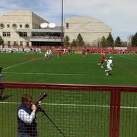 Photo taken at Barton Lacrosse Stadium by Connor O. on 4/20/2013