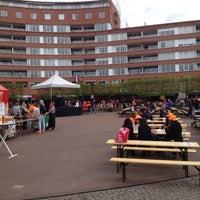 Photo taken at Marie Heinekenplein by Diego S. on 4/30/2013