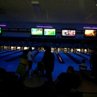 Photo taken at Strike & Spare by April B. on 9/30/2012