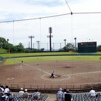 Photo taken at いせはらサンシャインスタジアム by Hideaki M. on 5/19/2013