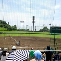 Photo taken at いせはらサンシャインスタジアム by Hideaki M. on 7/15/2013