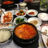 Photo taken at BCD Tofu House by Ivan on 4/20/2013