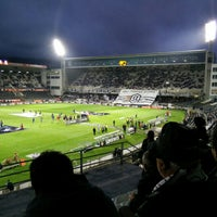 Photo taken at Estádio D. Afonso Henriques by João M. on 5/1/2015