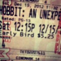 Photo taken at Cinemark Movies 14 by C V B H A. on 12/15/2012