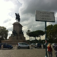Photo taken at Piazzale Giuseppe Garibaldi by Andrey D. on 10/8/2013
