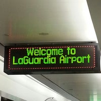 Photo taken at LaGuardia Airport (LGA) by Millie B. on 6/5/2013