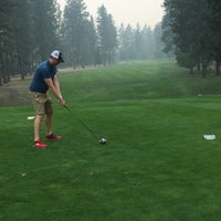 Photo taken at Coeur d'Alene Golf Club by Lacey on 9/7/2017