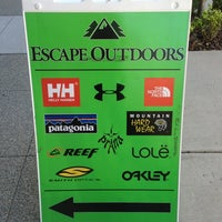 Photo taken at Escape Outdoors by Graham on 7/3/2013
