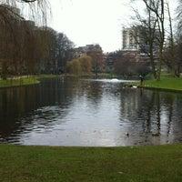 Photo taken at Parc Léopoldpark by Eleni on 2/18/2013