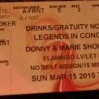Photo taken at Legends in Concert by Mc C. on 3/16/2015