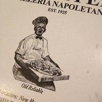 Photo taken at Frank Pepe Pizzeria Napoletana by Lauren K. on 10/8/2012