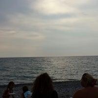 Снимок сделан в Lido Mediterraneo - Gizzeria пользователем Alessandra d. 8/15/2013