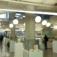 Photo taken at Central Branch Hamilton Public Library by TheAinzlee on 1/14/2013