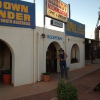 Photo taken at Radeka Backpackers Inn Coober Pedy by Arid Areas C. on 2/13/2013