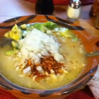 Photo taken at Pozole Estilo Guerrero by Jose Luis F. on 10/18/2012
