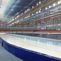 Photo taken at Adler Arena by Olga M. on 7/16/2013