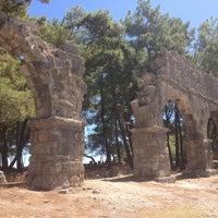 9/5/2013 tarihinde Ömür K.ziyaretçi tarafından Phaselis Antik Kenti'de çekilen fotoğraf