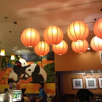 Photo taken at Panda Express - South Pasadena by Scott E. on 12/25/2012